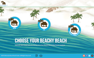 image of the footer banner for the Beachy Beach website