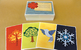 image of stationary cards by Kergian Marketing Associates