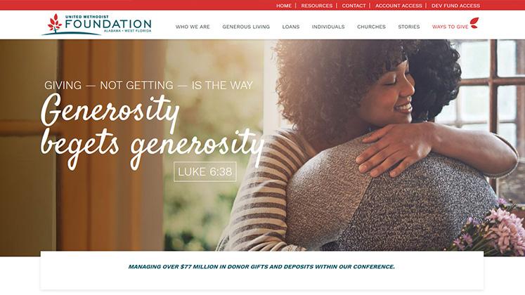 United Methodist Foundation Website