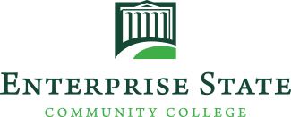 Image of the Enterprise State Community College logo.
