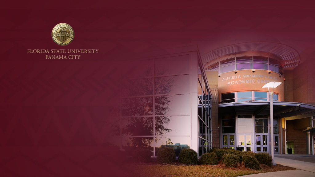 Zoom Holley Center background image for Florida State University Panama City...