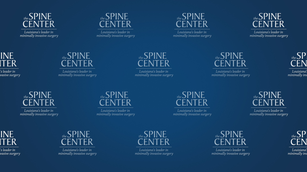 Zoom logo background image for the Spine Center..